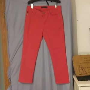 Ladies Sz. 12 , Rock & Republic Red jeans